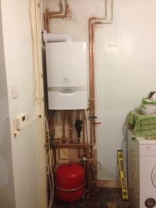 gas, gas service, pipework in bathroom