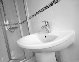 bathroom pipe work, gas